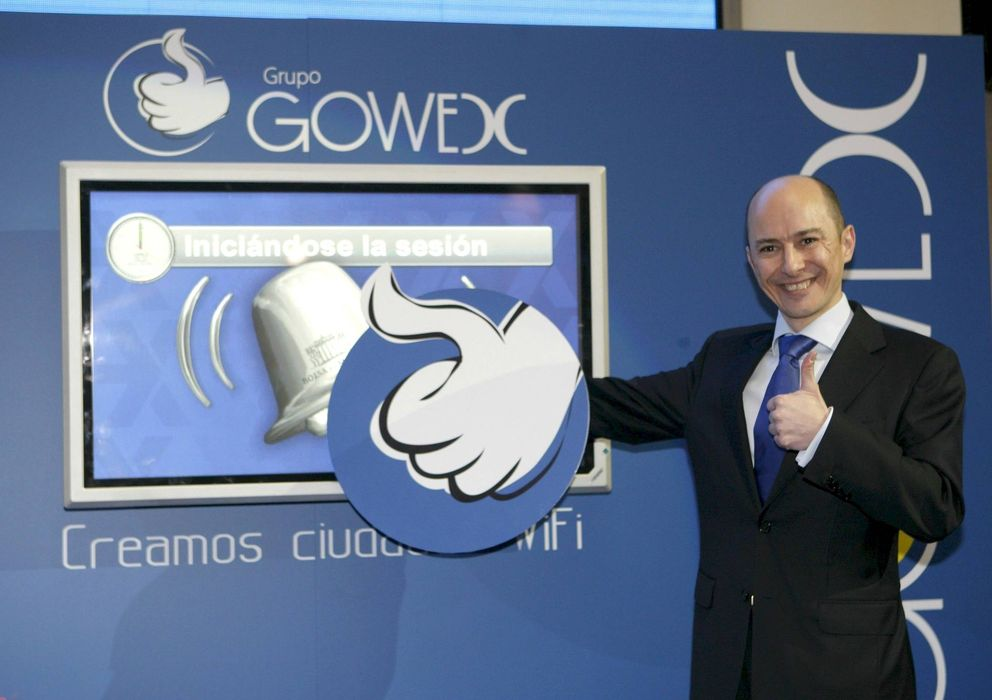 Foto: Jenaro García, consejero delegado de Gowex