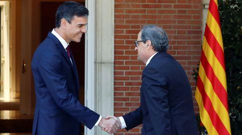 Torra pide a Sánchez un referéndum como el de Quebec para frenar el conflicto