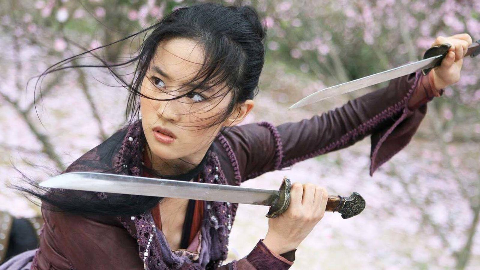 Foto: Imagen de la actriz Liu Yifei, la nueva princesa Disney.