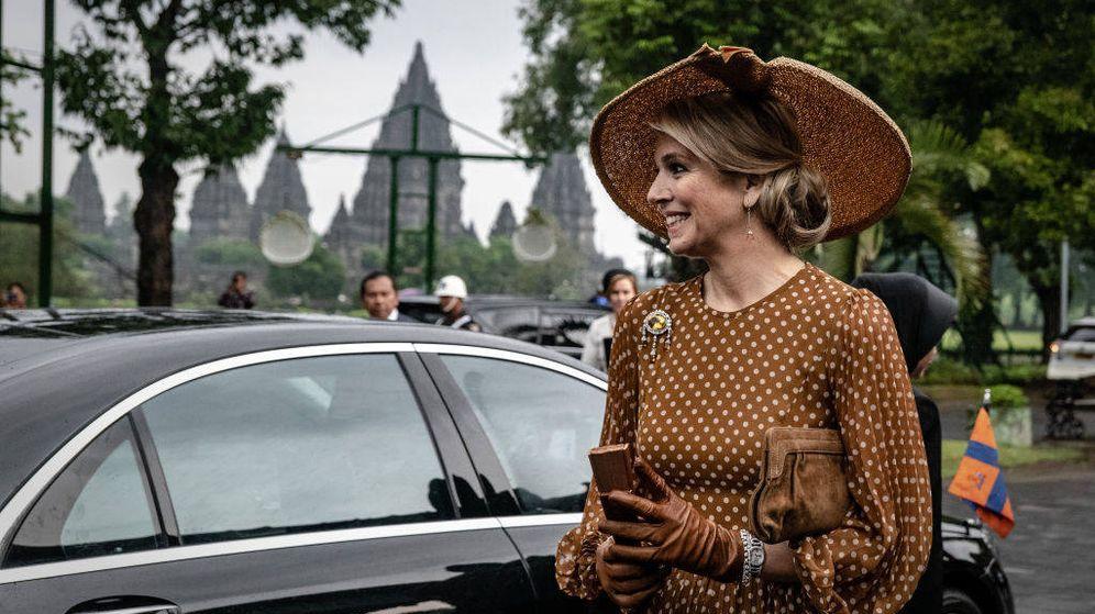 Foto: Máxima de Holanda, en su tour por Indonesia. (Getty)