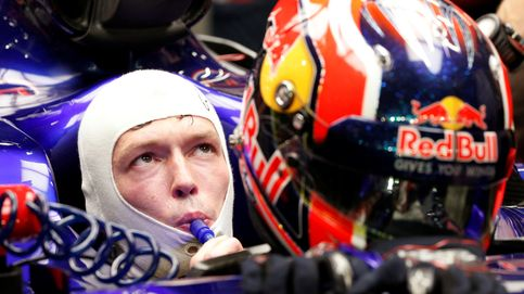 A Daniil Kyvat se le acabó la mecha: la última víctima de la 'trituradora' de Red Bull