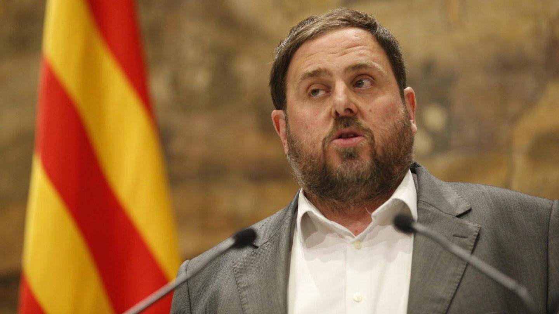 El exvicepresidente de la Generalitat Oriol Junqueras. (EFE)