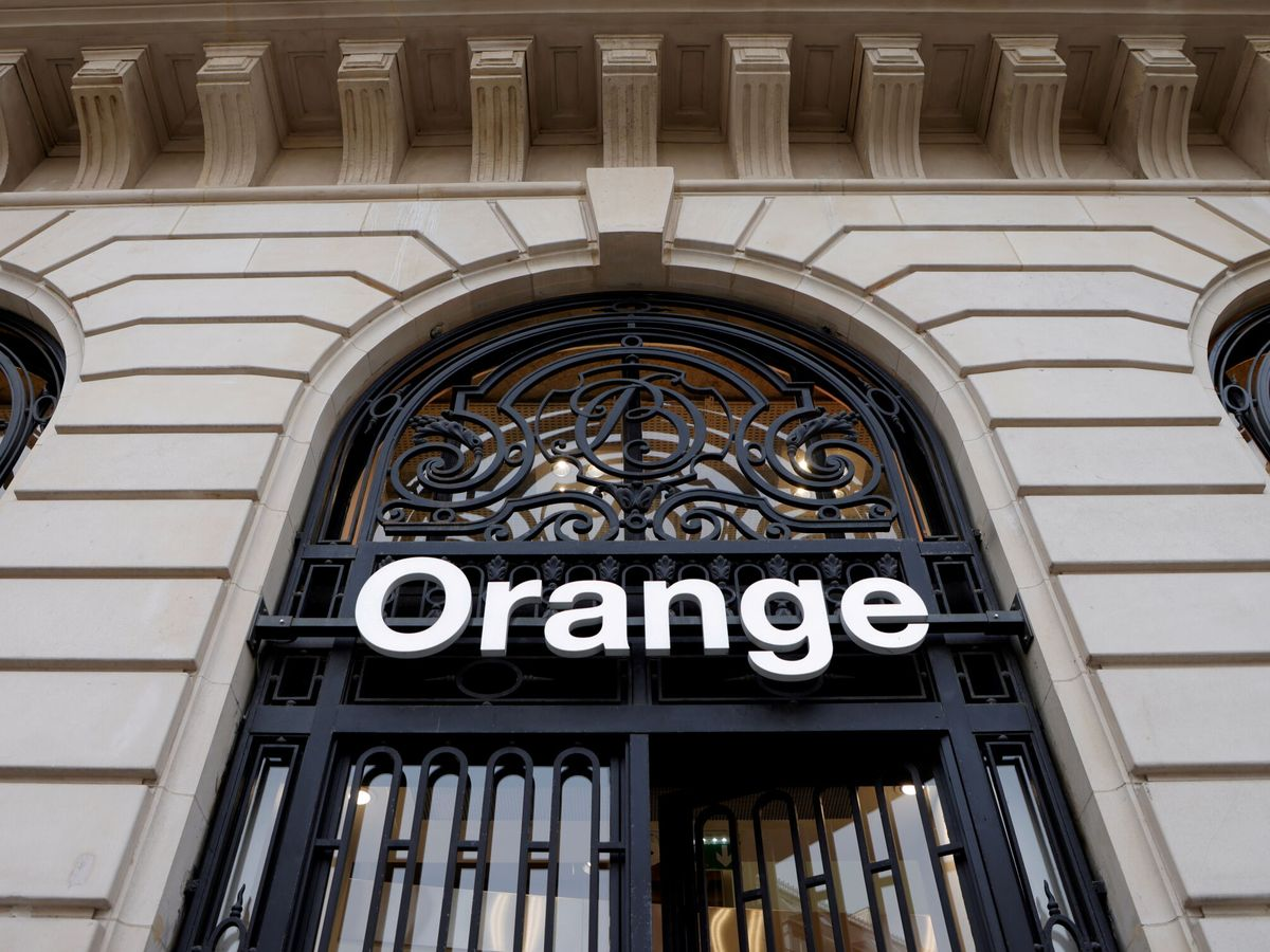 Foto: Logo de Orange. (Reuters)