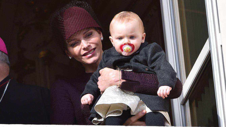 Foto: La princesa Charlène y Gabriella en una imagen de archivo (Gtres)
