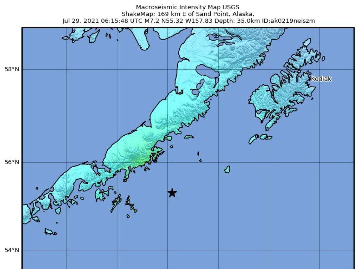 Foto: Alaska (EFE/EPA/USGS)