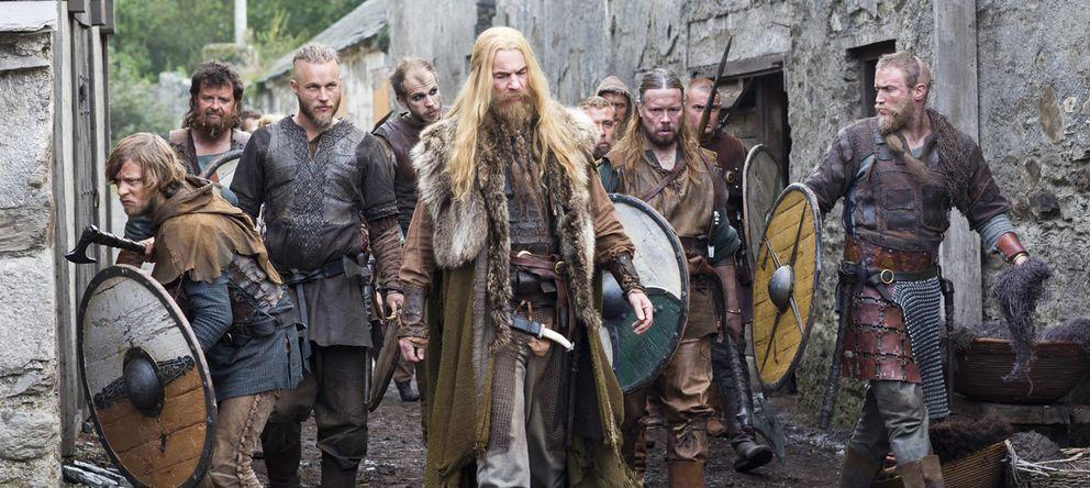 Foto: Imagen de la serie de televisión Vikingos.