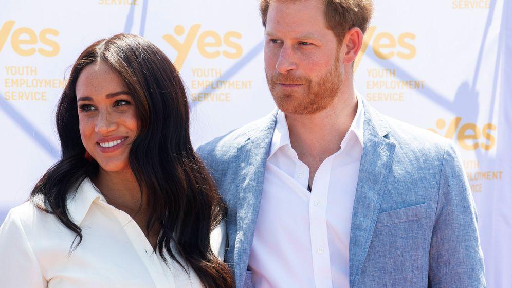 Foto: Los duques de Sussex, en Sudáfrica. (Reuters)