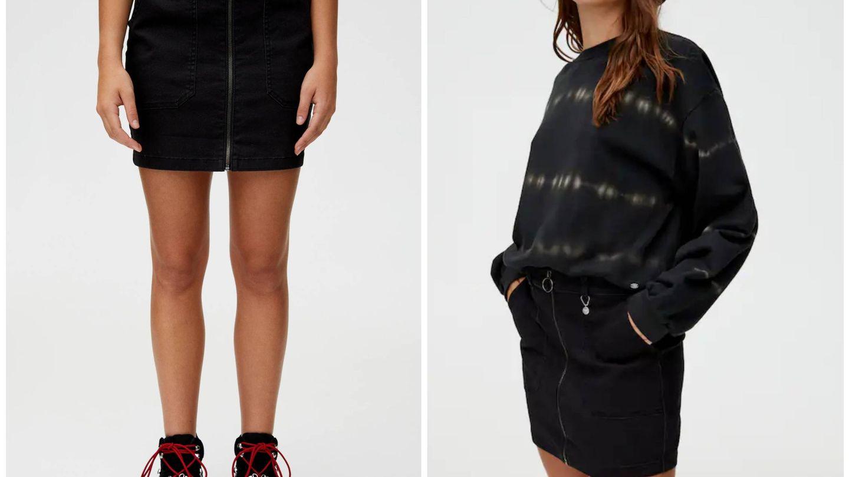 No la guardes con el cambio de armario, combina tu falda con medias de rejilla. (Cortesía)