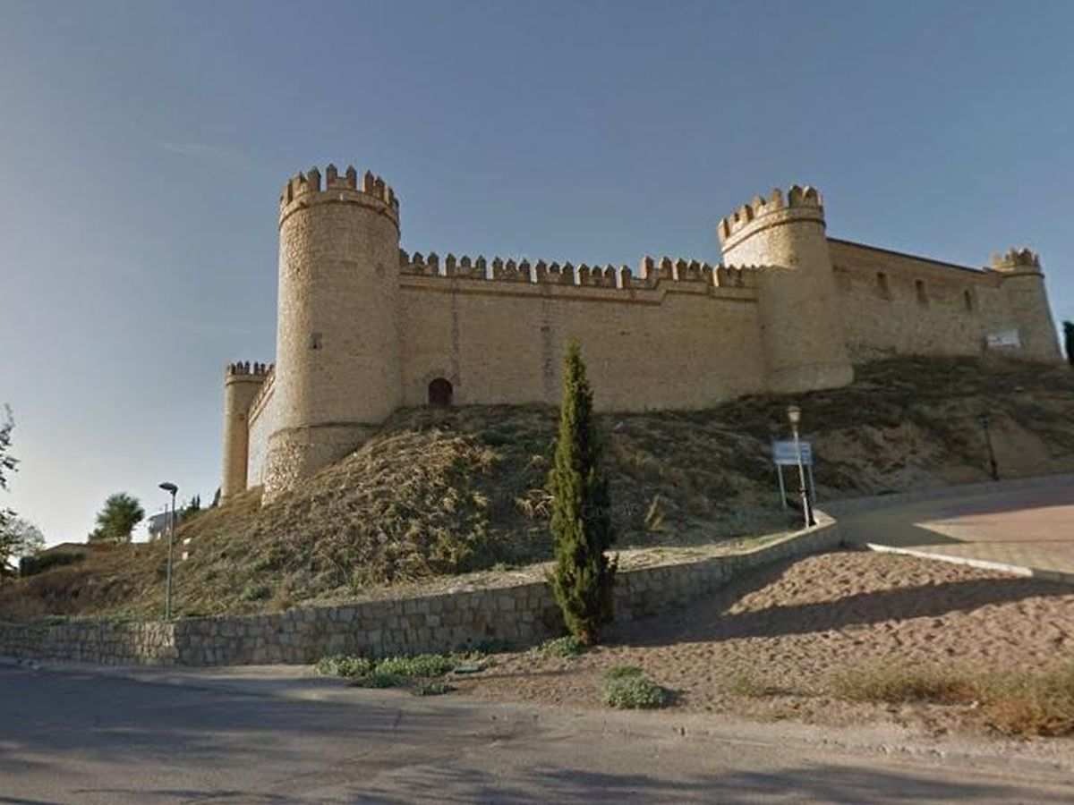 Foto: El Castillo de Maqueda en venta con una rebaja del 30%. (Cedida)