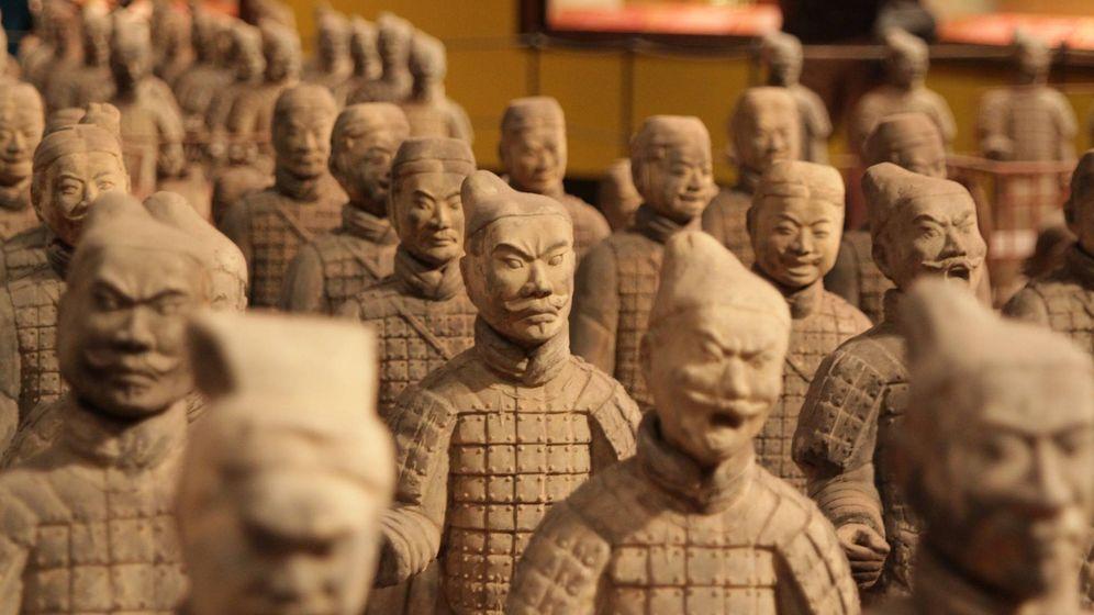 Foto: Soldados de terracota en un museo. (Pixabay)