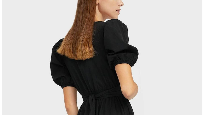 Nuevo vestido de Stradivarius. (Cortesía)