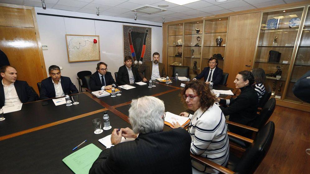 Foto: Imagen de la reunión entre ACB y ABP celebrada este martes en la sede del CSD. (ACB Photo)