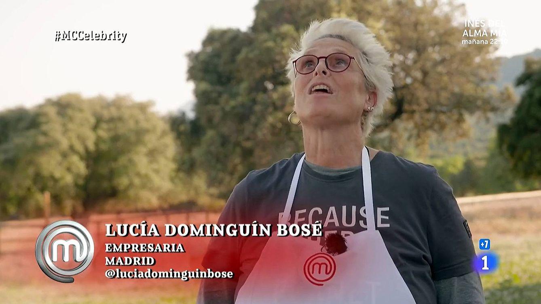 Regalazo divino de Lucía Bosé a su hija: Lucía Dominguín, repescada en 'Masterchef Celebrity'