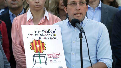 El juez desautoriza a Carmena y tumba el acto a favor del referéndum en Madrid