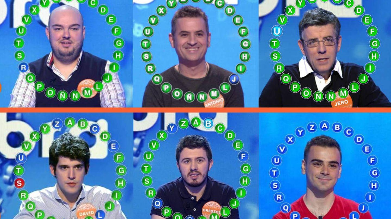 Fran, Antonio, jero, David Leo, Orestes y Pablo Díaz. (Mediaset/Atresmedia)