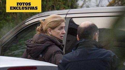 Fotos exclusivas: La infanta Cristina pasa la Navidad en Vitoria con los Urdangarin