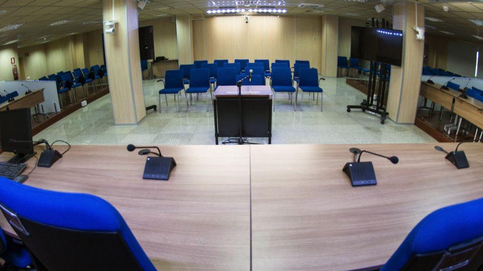 Foto: Sala donde se celebrará el juicio del caso Nóos. (EFE)