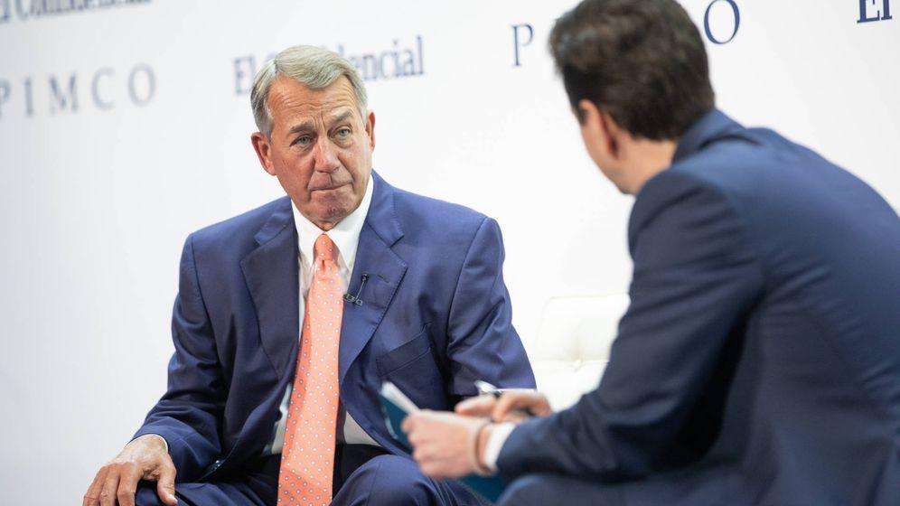 Foto: John Boehner, expresidente de la Cámara de Representantes de EEUU.