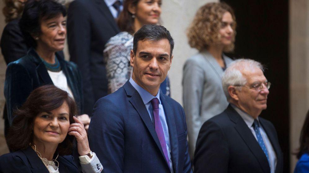 Foto: Reunión del Consejo de Ministros en Barcelona. (EFE)