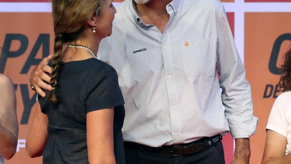 Elena da la talla y se convierte en el apoyo de Felipe en un verano complicado
