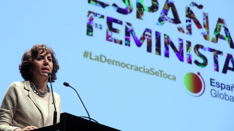 La secretaria de Estado de España Global, Irene Lozano, el pasado 26 de noviembre en Madrid. (EFE)