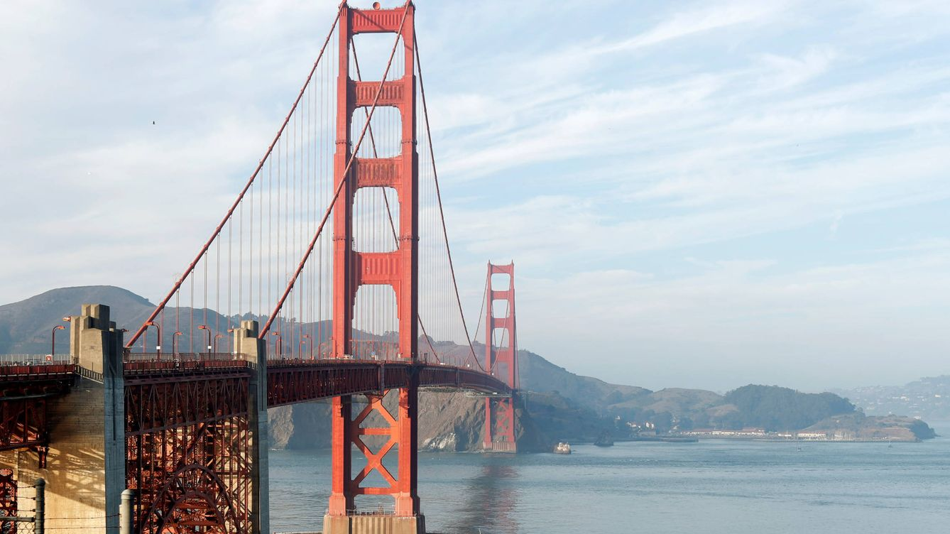 Foto: El 'Golden Gate' en San Francisco. (Reuters)