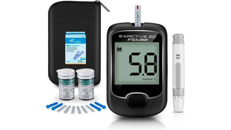 Medidor de glucosa en sangre SEEYC