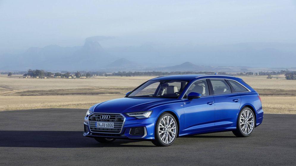 Foto: El Audi A6 Avant incluye un sistema híbrio de 48V.