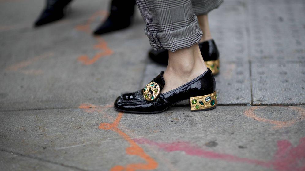 Foto: De herencia masculina, estos zapatos respiran feminidad. (Imaxtree)