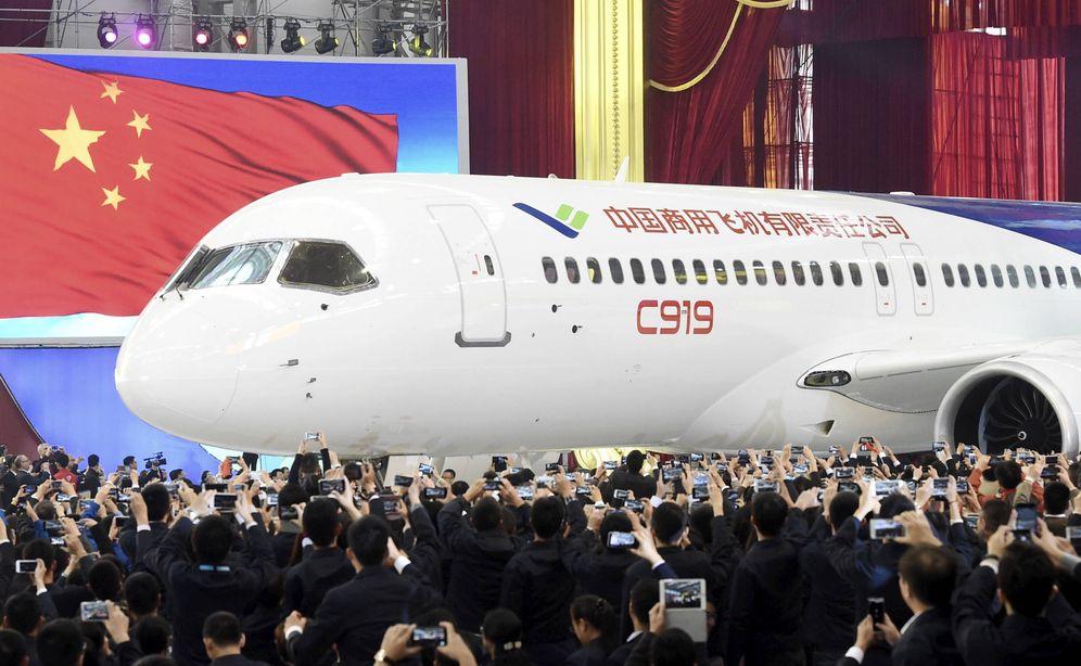 Foto: El avión C-919, diseñado y fabricado por Comac. (Foto: Reuters)