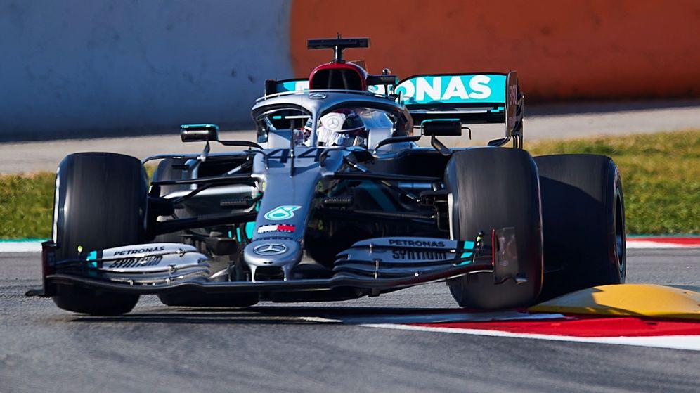 Foto: Las mejores imágenes de la pretemporada de F1 en Barcelona