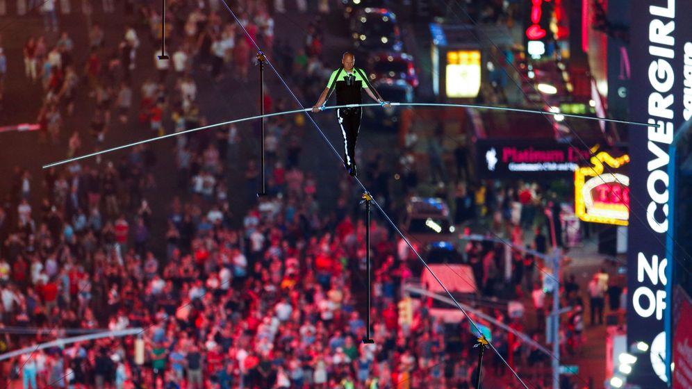 Foto: El equilibrista Nik Wallenda. (Reuters)