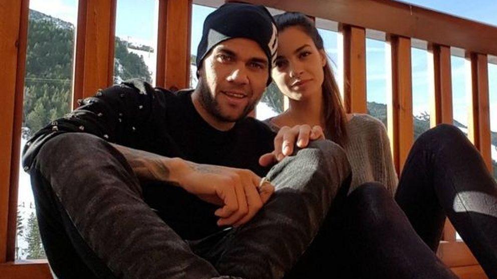 Dani Alves y la modelo Joana Sanz están comprometidos