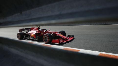 Carlos Sainz (2º) y Ferrari brillan en Zandvoort: Hamilton, fuera de juego