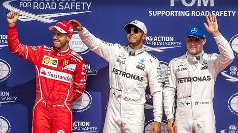 Hamilton iguala a Schumacher y bate a su 'sucesor'; Alonso 11º a un pelo de Q3