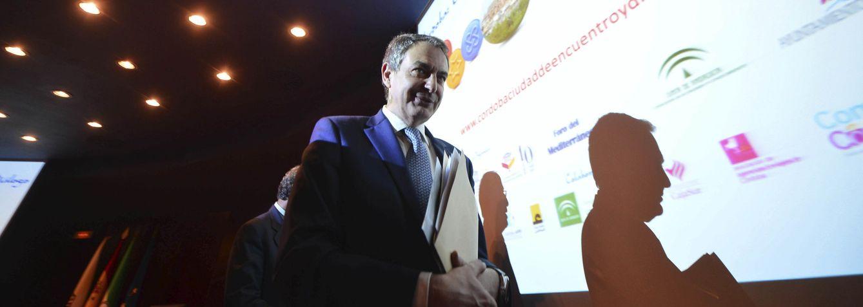 José Luis Rodríguez Zapatero, antes de la clausura de unas jornadas en Córdoba, el pasado 13 de abril. (EFE)