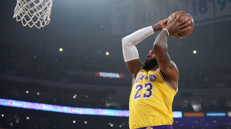 El último año en el que LeBron James no jugó la final de la NBA fue en 2010. (USA TODAY Sports)