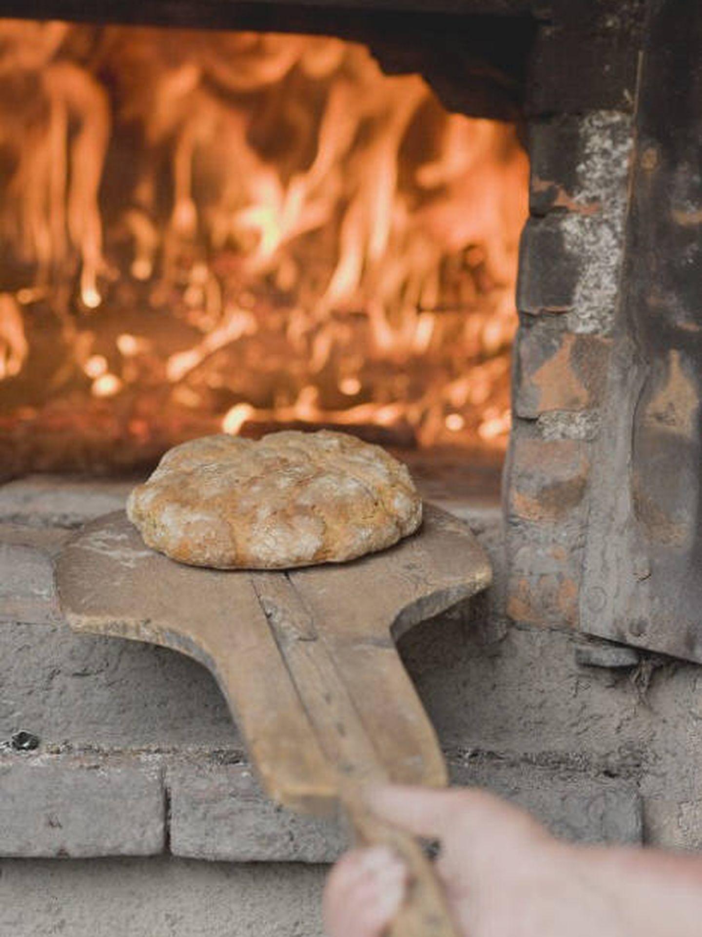 Pan al auténtico horno de leña