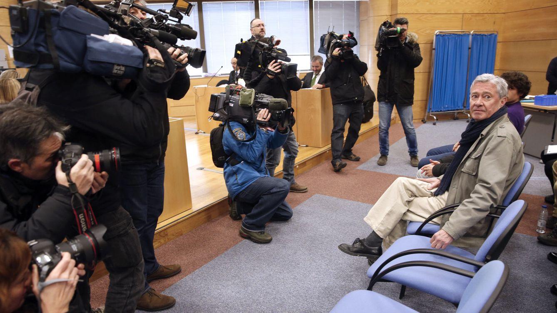 Foto: Jorge Verstrynge, hoy en el banquillo de los acusados del Juzgado de lo Penal número 13 de Madrid. (EFE)