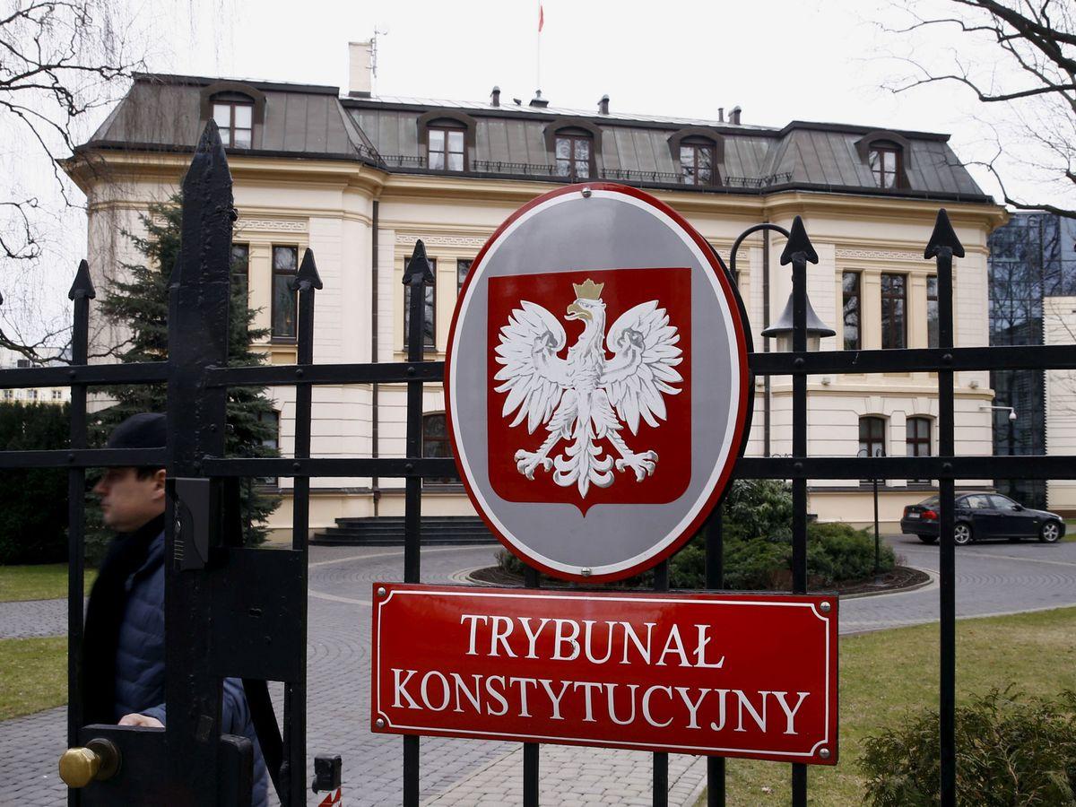 Foto: Tribunal Constitucional de Polonia. (Reuters)