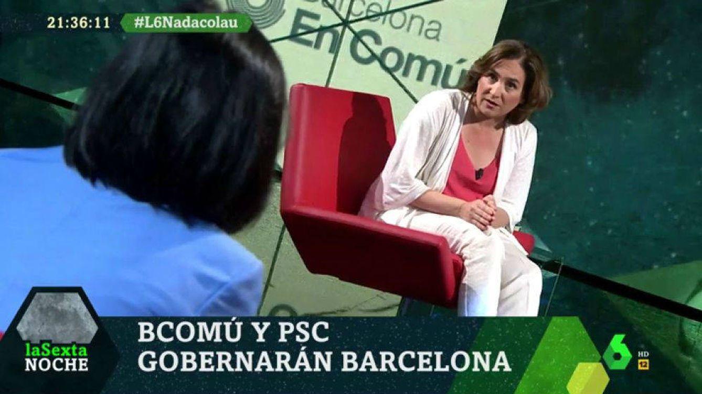 Colau se muestra contraria a la vía unilateral, pero defiende poder votar en Cataluña
