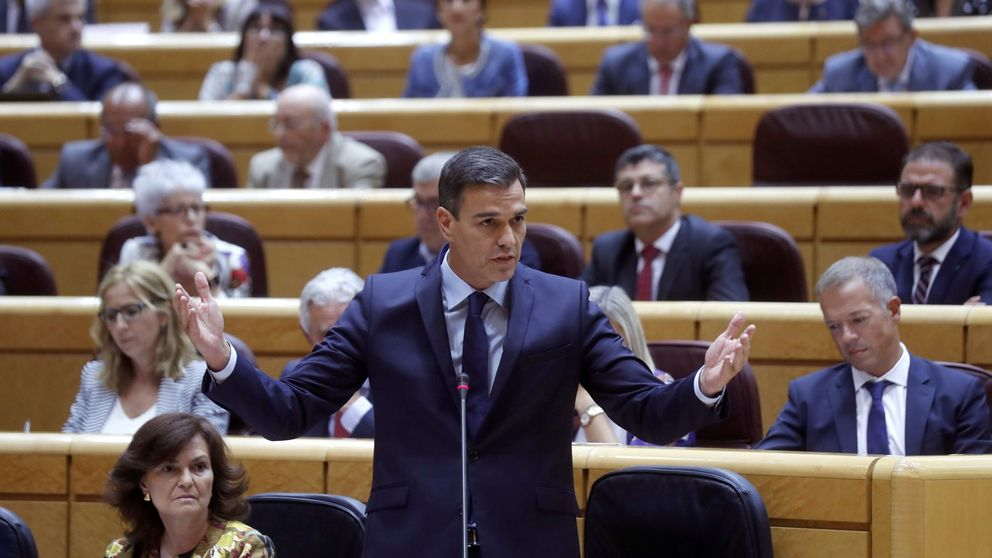 Sánchez descartaba la caída de Montón esta misma tarde: Seguirá con su gran trabajo