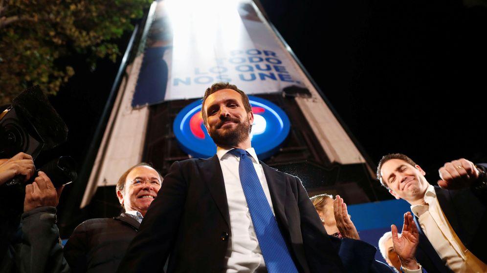 Foto: Pablo Casado tras conocer el resultado del 10-N. (Reuters)
