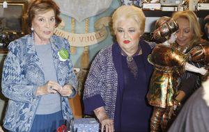 Pantoja y la duquesa, los temas recurrentes en el Rastrillo