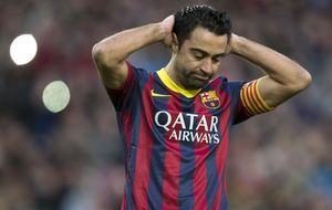 Xavi quiere saber si Luis Enrique le quiere a su lado en el Barcelona