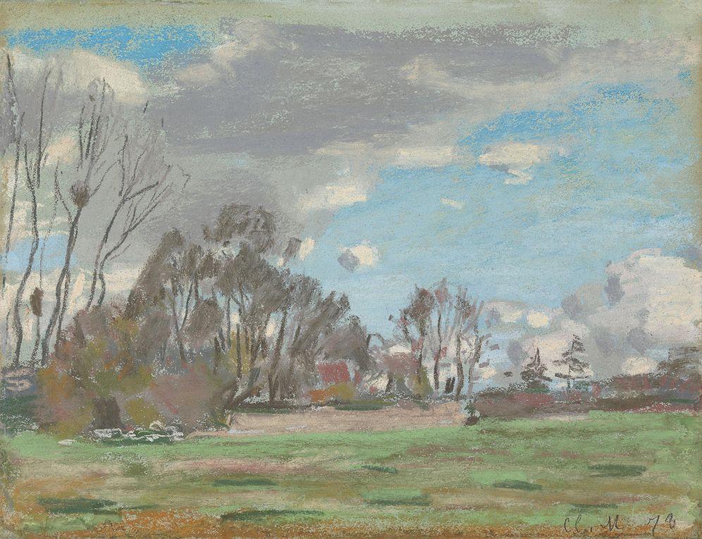 Foto: 'Paysage, environs du Havre', de Monet