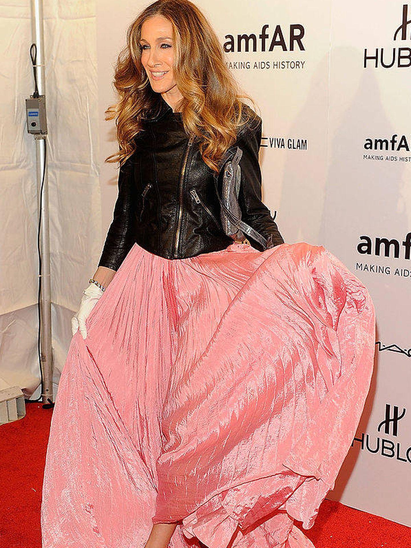 En la gala amfAR New York, en 2012.