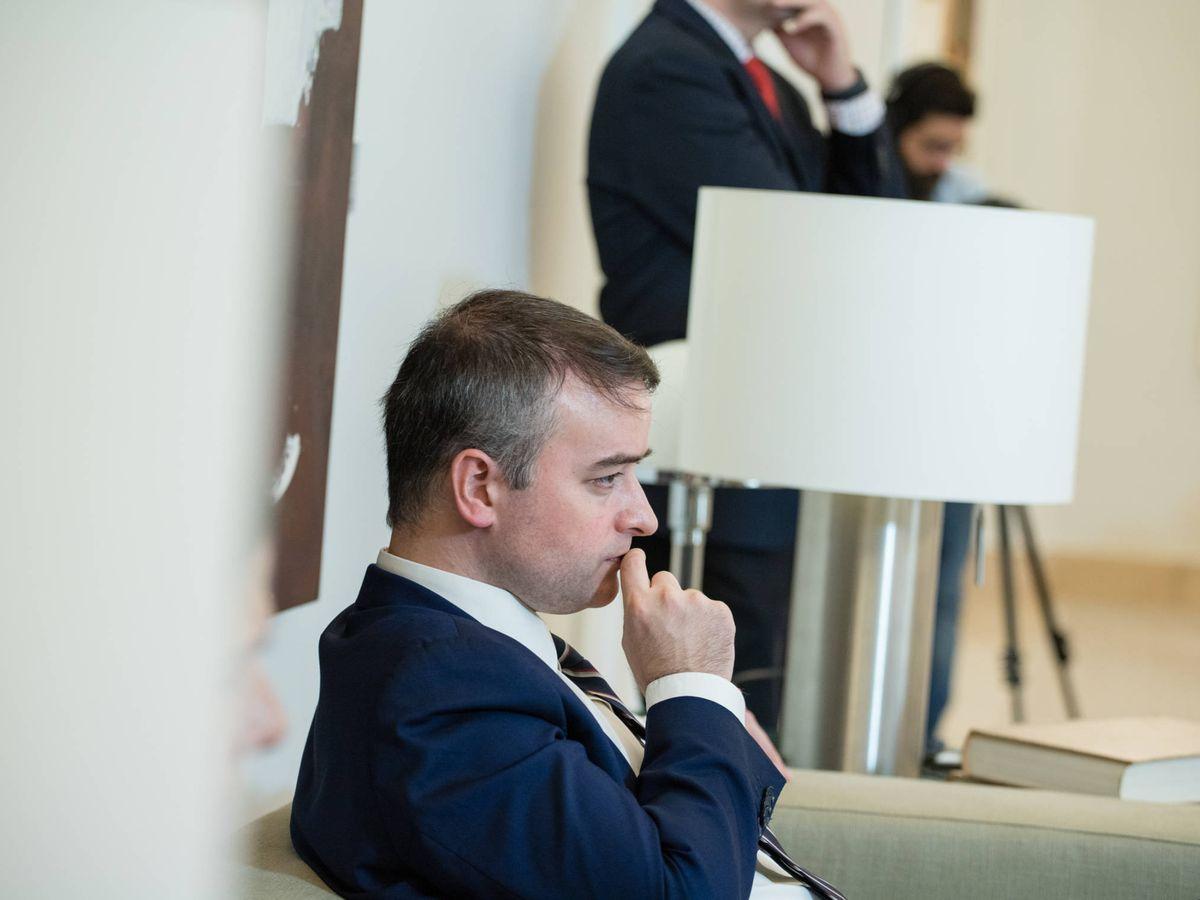 Foto: El director de Gabinete del presidente del Gobierno, Iván Redondo. (Jorge Álvaro Manzano)