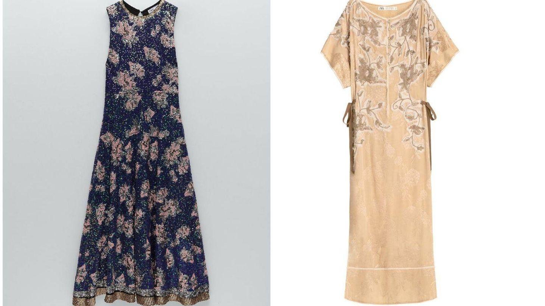 Copia el look con estos dos vestidos de Zara de edición limitada. (Cortesía)