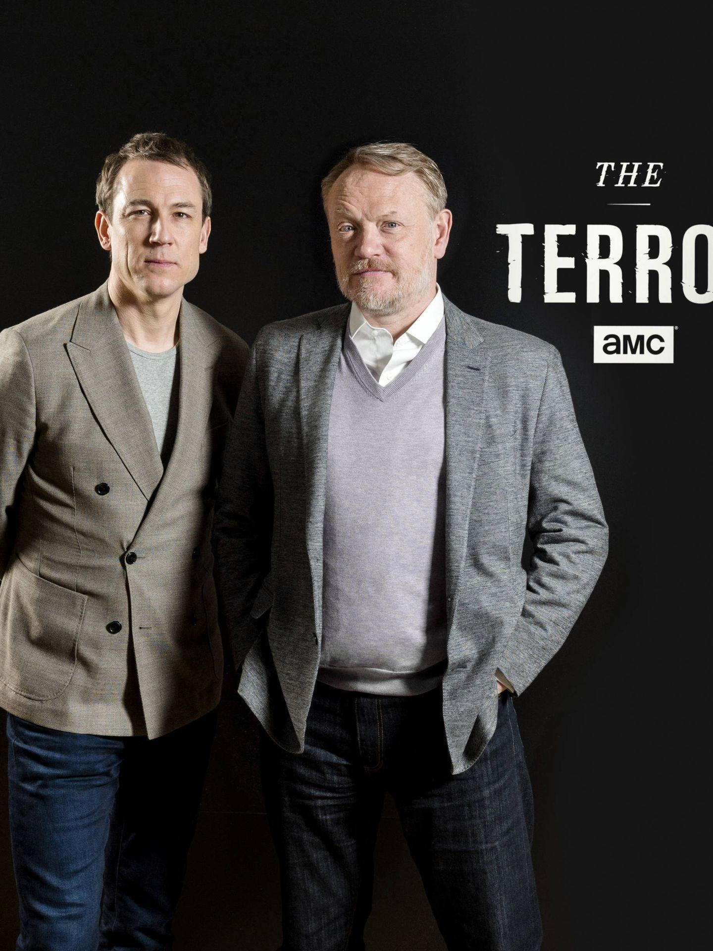 Menzies y Harris en una imagen promocional de su paso por España. (AMC)